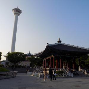 龍頭山公園・釜山タワーごゆるり散策