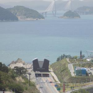 釜山旅行 加徳島のハイキングコース