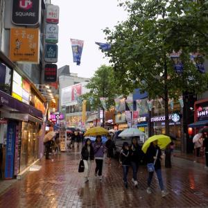 韓国旅行 大邱の繁華街  東城路ごゆるり散策