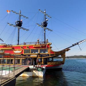 賢島の観光船 エスパーニャクルーズごゆるり体験