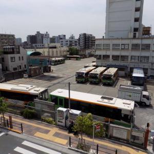 かつての都電の車庫 都営バス南千住車庫