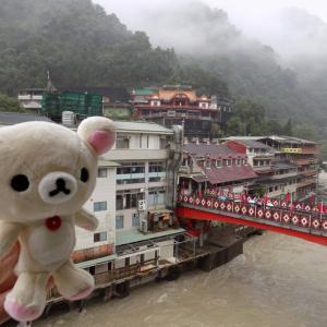 台湾の温泉地:烏来で宿泊した烏来大飯店