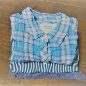 シャツを一枚処分してどこかすっきり。手持ちの服を生かすことにシフト。