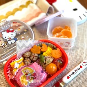 幼稚園弁当 可愛いおにぎりで大喜びの娘 夏休み遊びグッズ