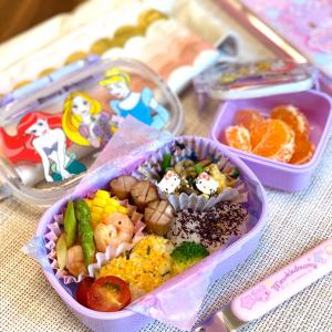 幼稚園弁当 セリアのお弁当グッズが大活躍!