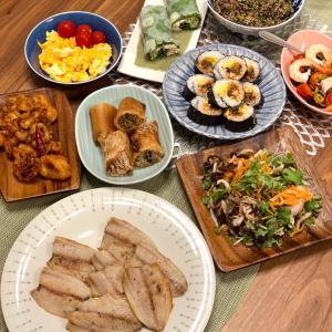 おうちごはん タイ料理な気分で手抜きの日