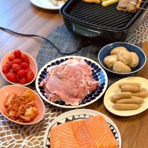 ホットプレート料理が快適な季節到来!
