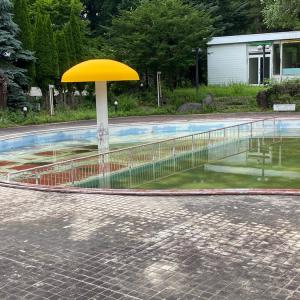 ある廃プール
