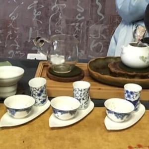 省内散歩と中国茶