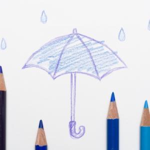 学童傘サイズ55センチならコレ!黄色傘難民を終わらせよう