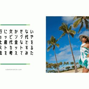 子連れハワイ旅行 予算シリーズその3お土産・アクティビティ・食費