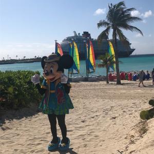 2020年フロリダ旅行DAY5★DCL3日目⚓︎南の島でグリーティング