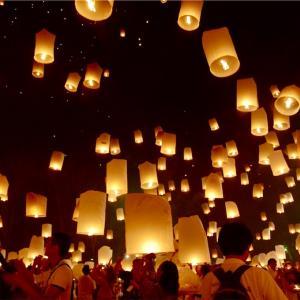タイ、ミャンマー旅行DAY1*チェンマイ コムローイ打ち上げ!