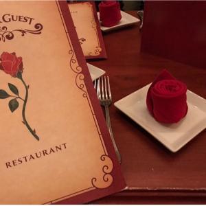 子連れWDW&DCL旅DAY8★MK美女と野獣のレストランBE OUR GUEST🌹