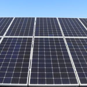 太陽光発電記録・2020/8月分