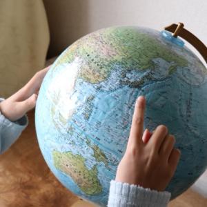 <地球儀>