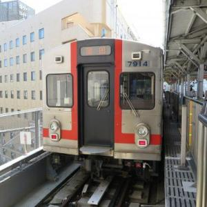 電車も東京の風景なのです!!
