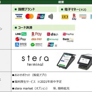 新決済プラットフォーム「stera」を活用した中小事業者向けの新たなキャッシュレスの取り組みについて