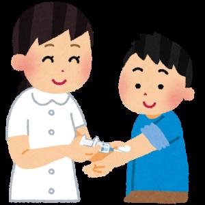 強がりな息子~インフルエンザ予防接種~
