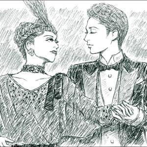 雪組「琥珀色の雨にぬれて」望海風斗さんと真彩希帆さん②