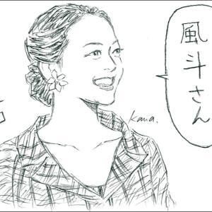 SWITCHインタビュー達人達「望海風斗×浅田真央」イラスト①