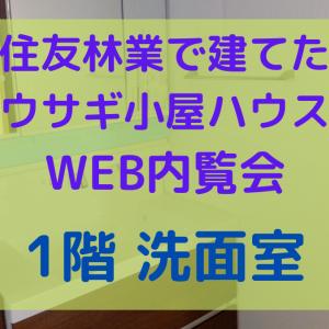 WEB内覧会〜洗面〜