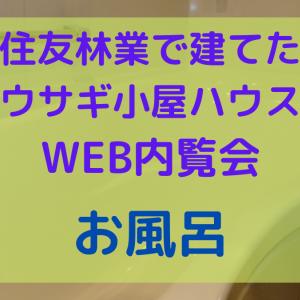 WEB内覧会~お風呂~