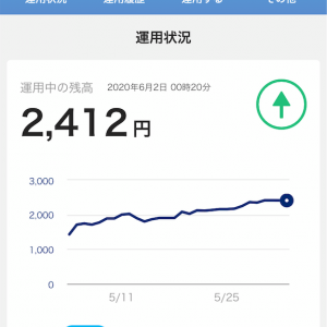 【PayPayと楽天の運用比較】直近1週間の増え方を比べてみる