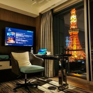 ザ・プリンスパークタワー東京「パノラミックキングルーム」滞在記!カップルにお勧めのホテル