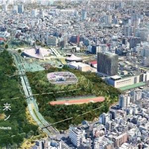 渋谷・代々木の球技専用スタジアム構想について書いてみる。