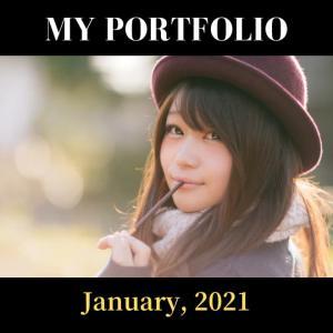 【2021年1月】ポートフォリオ紹介 日米株の利益率でダントツトップを走る銘柄はこれらです!