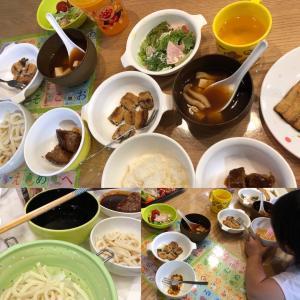 晩ごはん 偏食と生野菜にはマヨネーズ