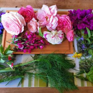 薔薇とハーブで豊かな時間。Fulfilling time with rose&herbs.