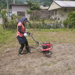 ハーブ園作り 開墾作業!Preparing land for herb garden