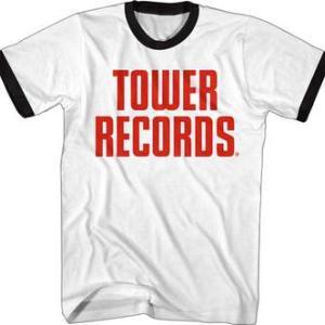 ★タワー レコード #Tシャツ 在庫限り リンガー Tower Records 正規品 #レコード屋