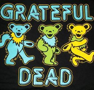 ★グレイトフル デッド Tシャツ Grateful Dead 3 Bears 正規品 再入荷予定 #ロックTシャツ