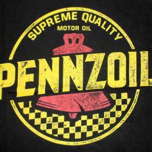 ★ペンゾイル #Tシャツ PENZOIL 正規品 #モーターオイル