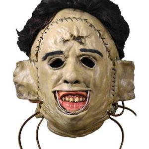 ★ #レザーフェイス ラバー マスク 再入荷! 悪魔のいけにえ #LEATHERFACE  ホラー映画