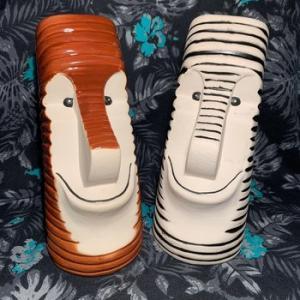 ★モアイ ボブ マグ Munktiki Moai Bob by Don Hobo Tiki 雑貨 #ティキマグ