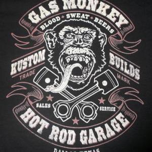 ★ガス モンキー ガレージ #Tシャツ Gas Monkey Garage 正規品 再入荷! #アメ車