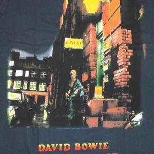 ★デヴィッド ボウイ Tシャツ David Bowie  Ziggy Stardust 正規品 #ロックTシャツ