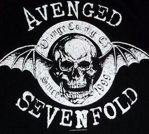 ★アヴェンジド・セヴンフォールド Tシャツ AVENGED SEVENFOLD 正規品 #ロックTシャツ