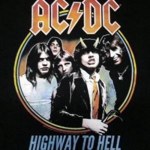 ★AC/DC エーシーディーシー #Tシャツ 地獄のハイウェイ 正規品 #ACDC ロックTシャツ関連
