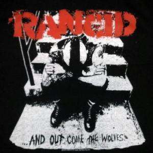 ★ランシド Tシャツ #RANCID Out Come the Wolves 正規品 入荷 #バンドTシャツ #パンク