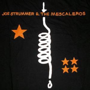 ★ジョー ストラマー Tシャツ Joe Strummer & The Mescaleros 正規品 #バンドTシャツ