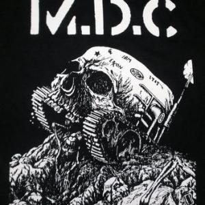 ★MDC Tシャツ Skull Tank 正規品 Millions of Dead Cops ロックTシャツ