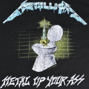 ★ #メタリカ Tシャツ METALLICA Doris , Metal Up 正規品 再入荷 #ロックTシャツ
