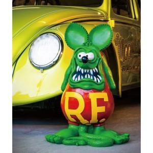 ★ラット フィンク ジャンボ スタチュー #RatFink 正規品 フィギュア TOY