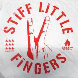 ★スティッフ リトル フィンガーズ Tシャツ 正規品 2カラー #PUNK #ロックTシャツ