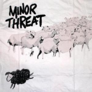 ★マイナー スレット Tシャツ Minor Threat OUT OF STEP 正規品 #ロックTシャツ